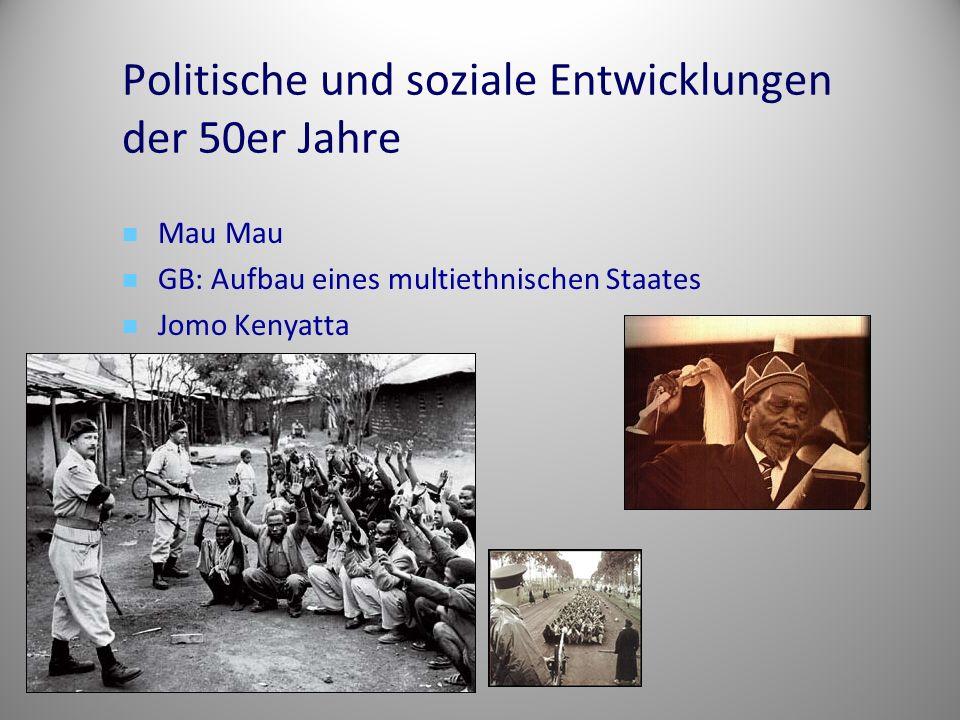 Politische und soziale Entwicklungen der 50er Jahre