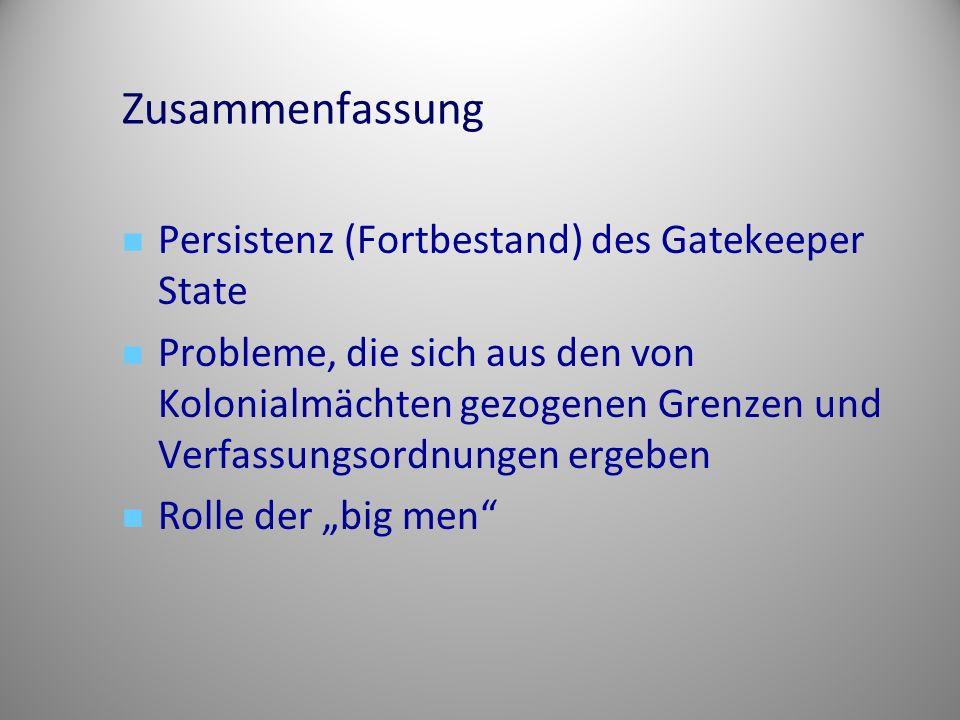 Zusammenfassung Persistenz (Fortbestand) des Gatekeeper State