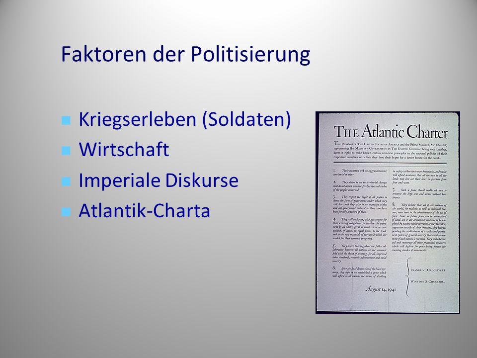 Faktoren der Politisierung