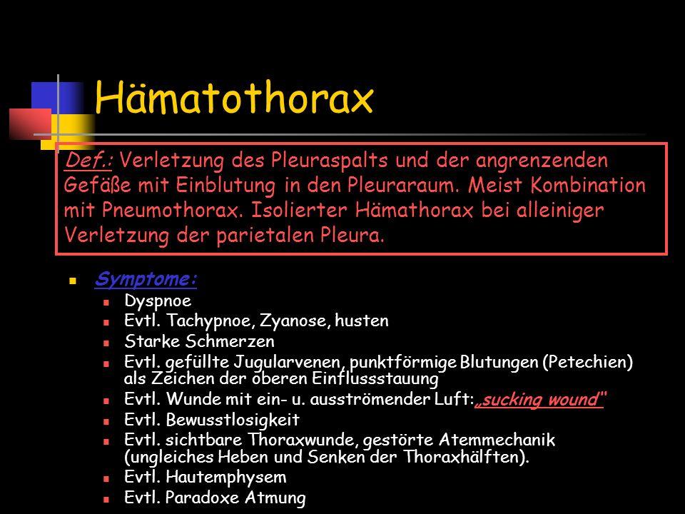 Hämatothorax