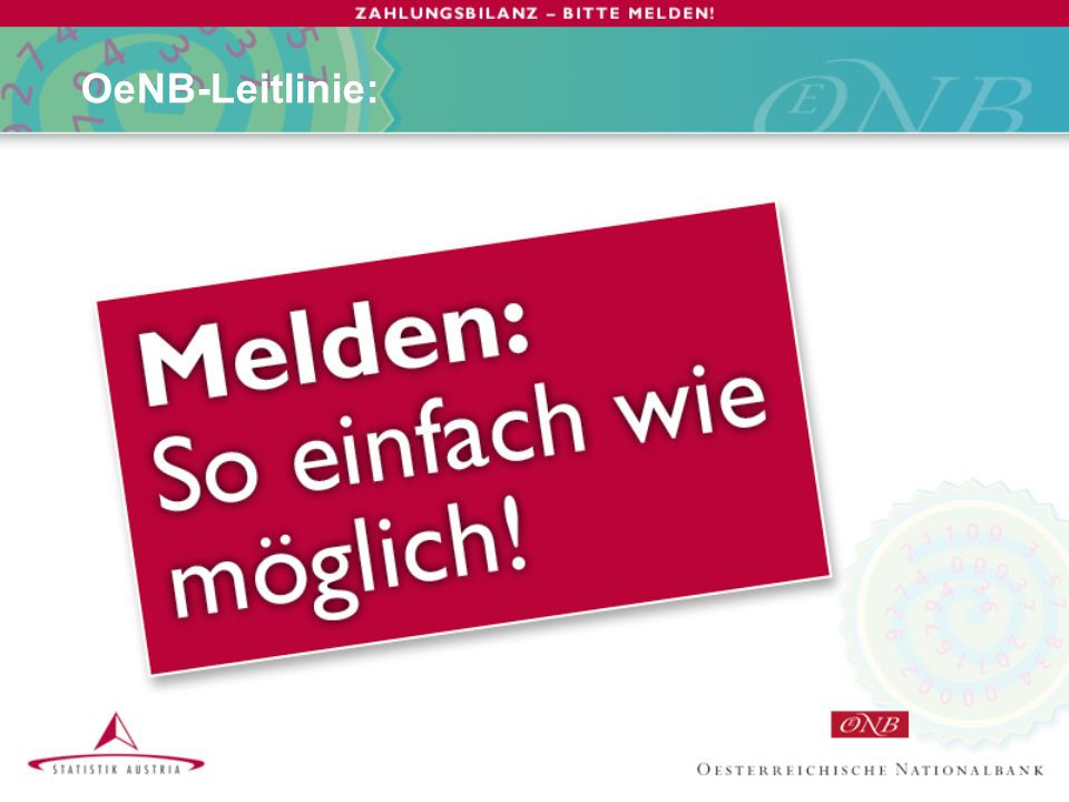 OeNB-Leitlinie: