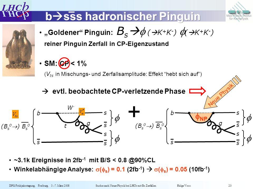 bsss hadronischer Pinguin