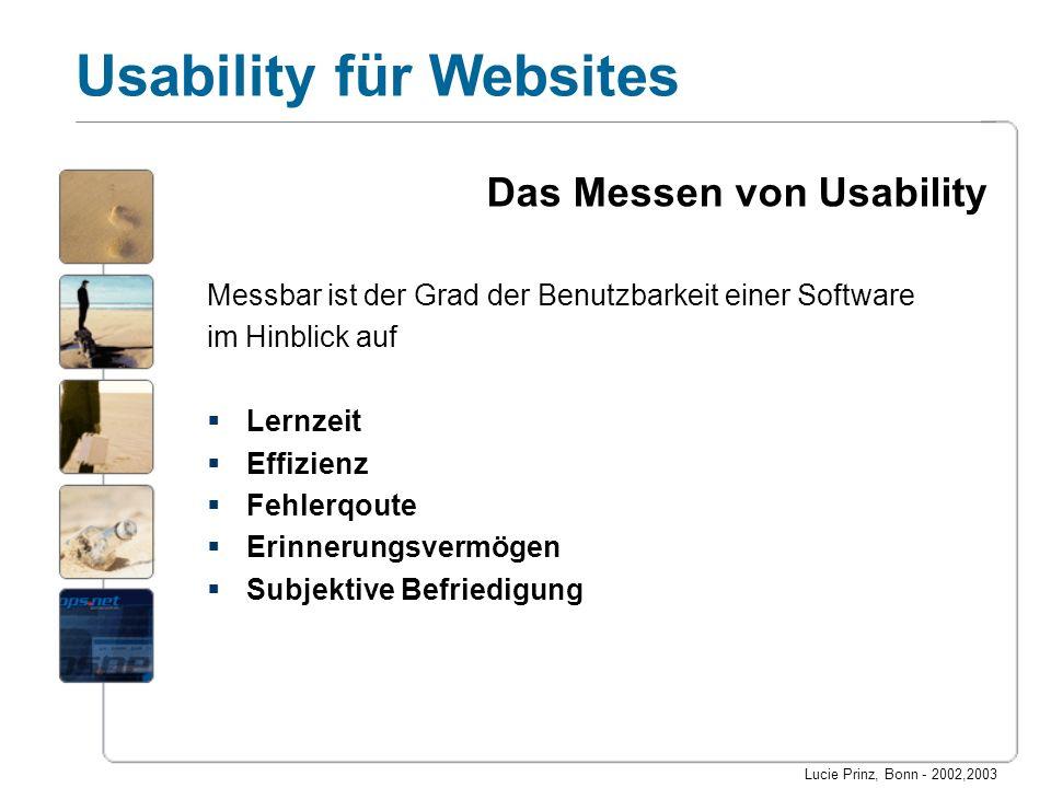Das Messen von Usability
