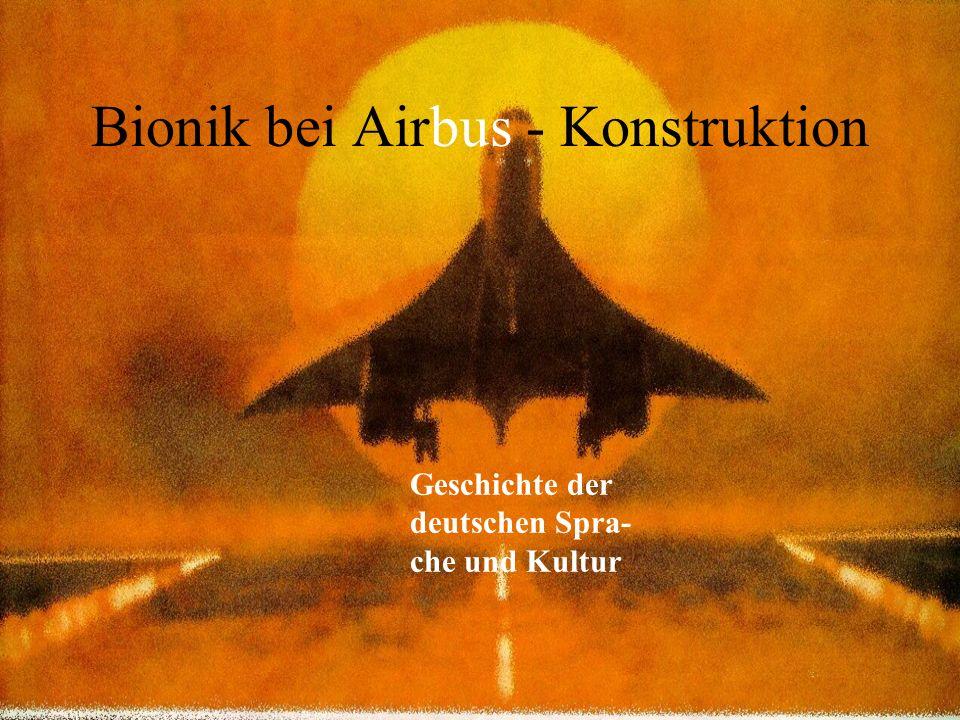 Bionik bei Airbus - Konstruktion