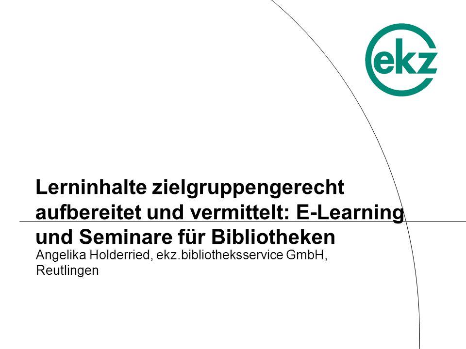 Angelika Holderried, ekz.bibliotheksservice GmbH, Reutlingen