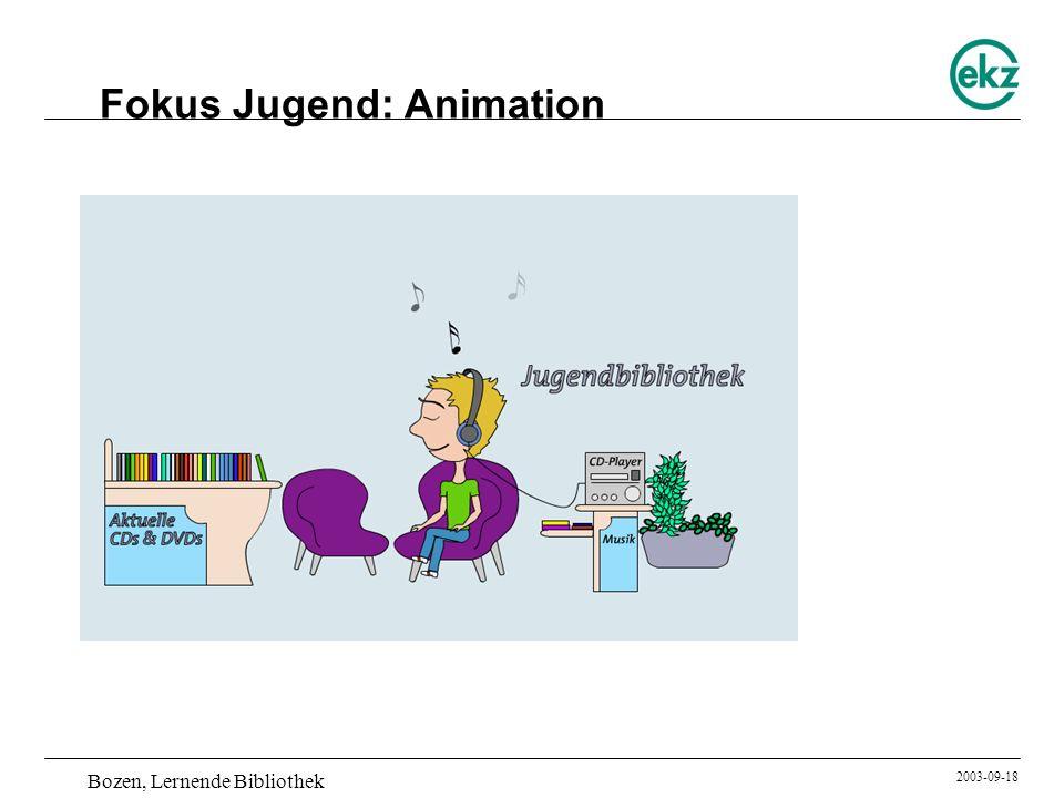 Fokus Jugend: Animation