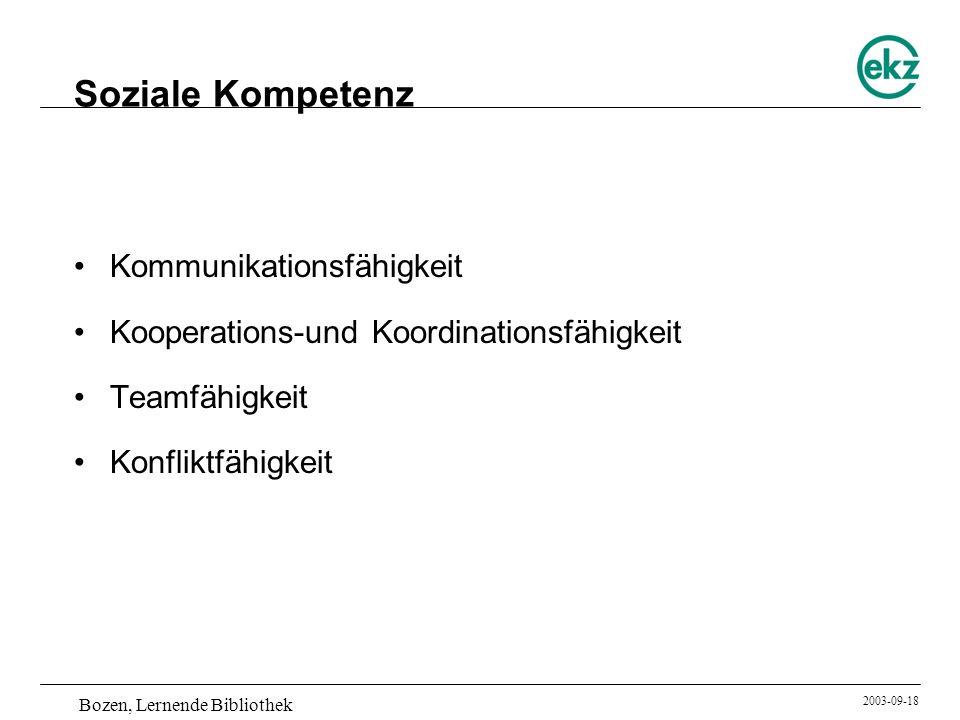 Soziale Kompetenz Kommunikationsfähigkeit