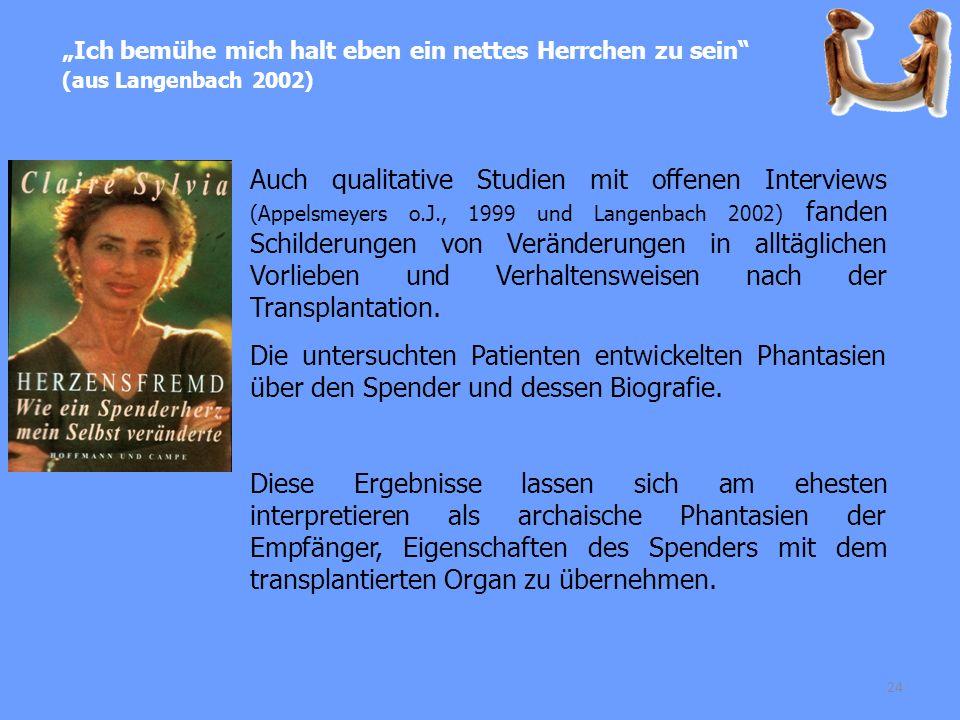 """""""Ich bemühe mich halt eben ein nettes Herrchen zu sein (aus Langenbach 2002)"""