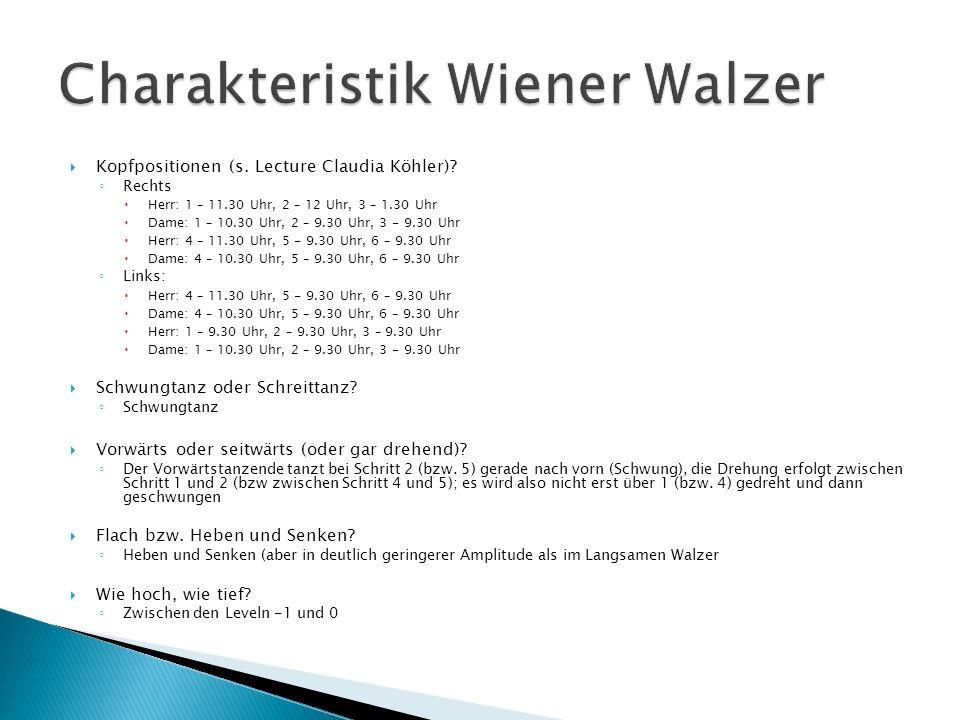 Charakteristik Wiener Walzer