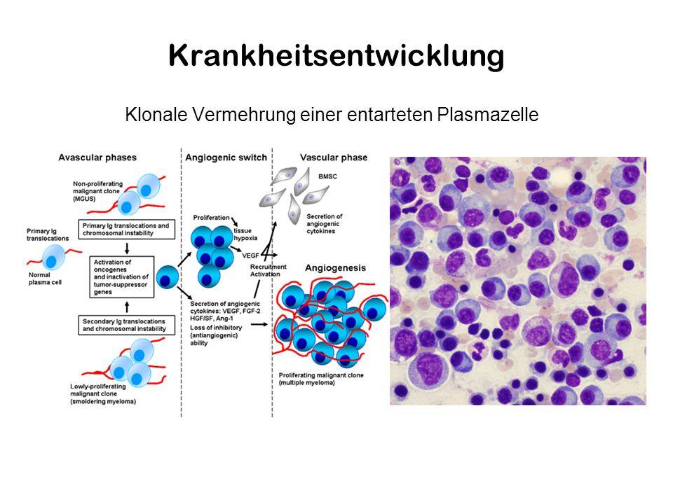 Krankheitsentwicklung