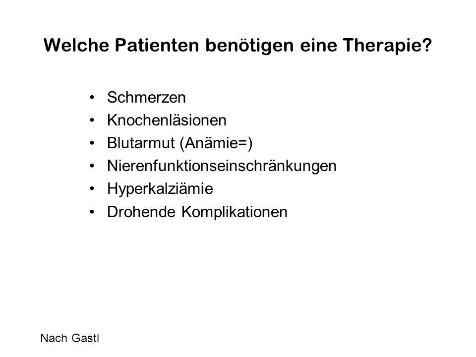 Welche Patienten benötigen eine Therapie