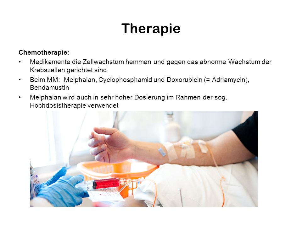 Therapie Chemotherapie: