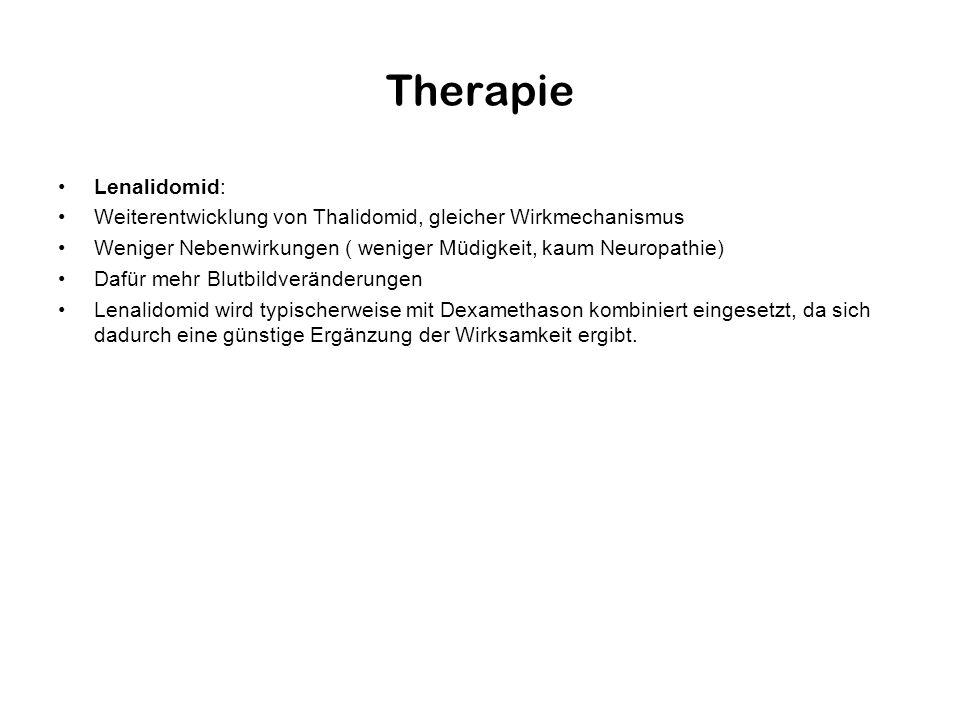 Therapie Lenalidomid: