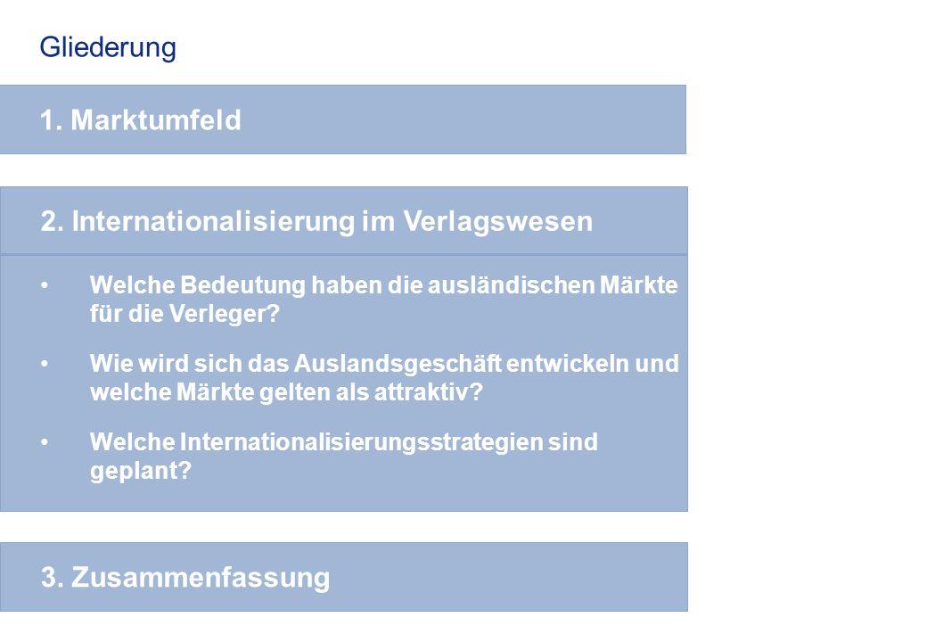 2. Internationalisierung im Verlagswesen