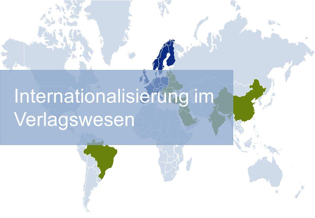 Internationalisierung im Verlagswesen