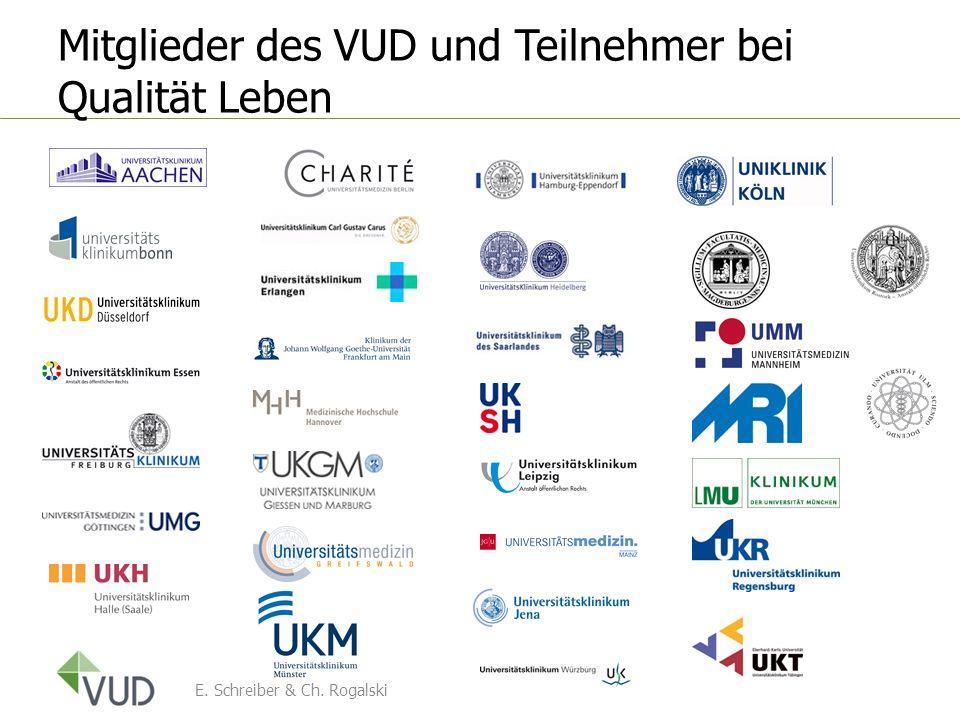Mitglieder des VUD und Teilnehmer bei Qualität Leben
