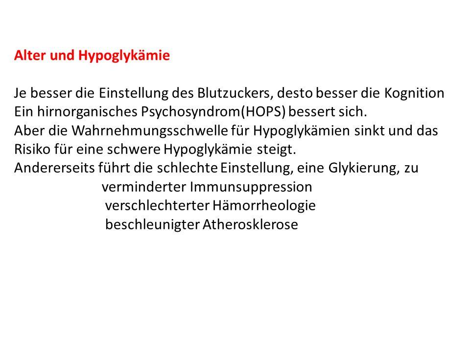 Alter und Hypoglykämie