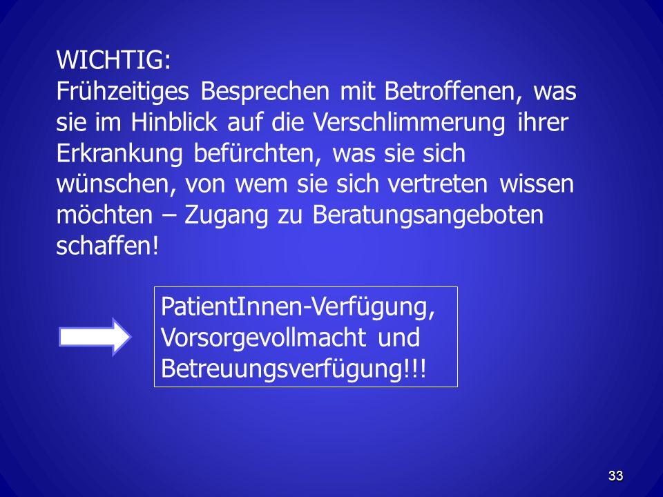 WICHTIG: