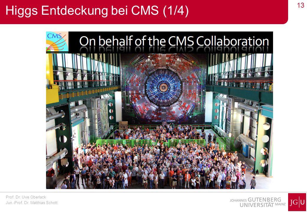 Higgs Entdeckung bei CMS (1/4)