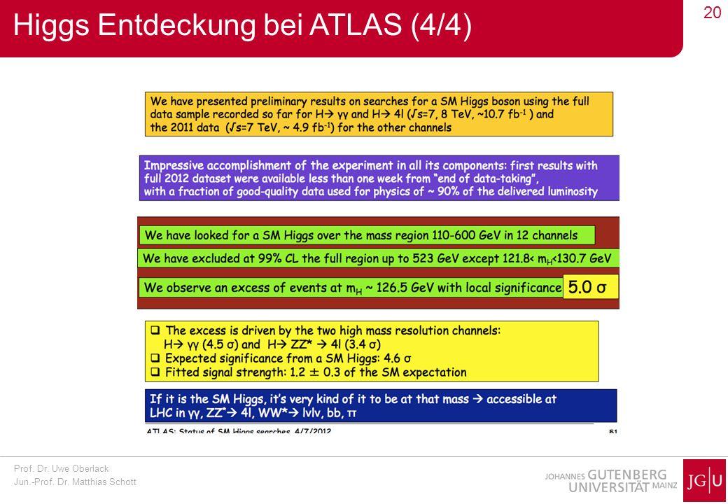 Higgs Entdeckung bei ATLAS (4/4)