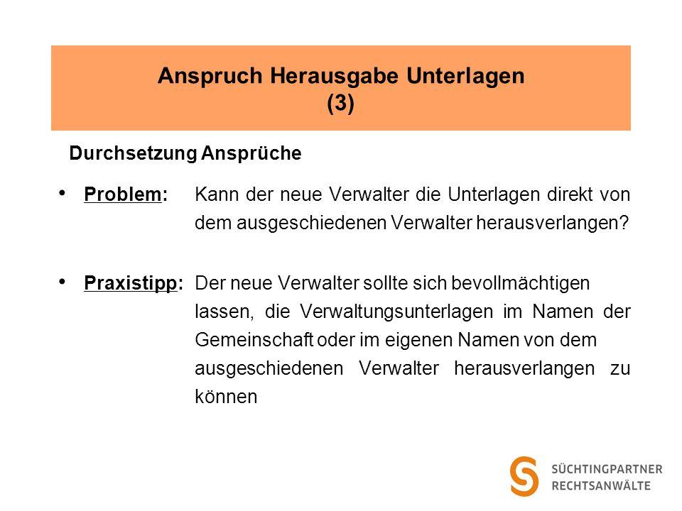 Anspruch Herausgabe Unterlagen (3)