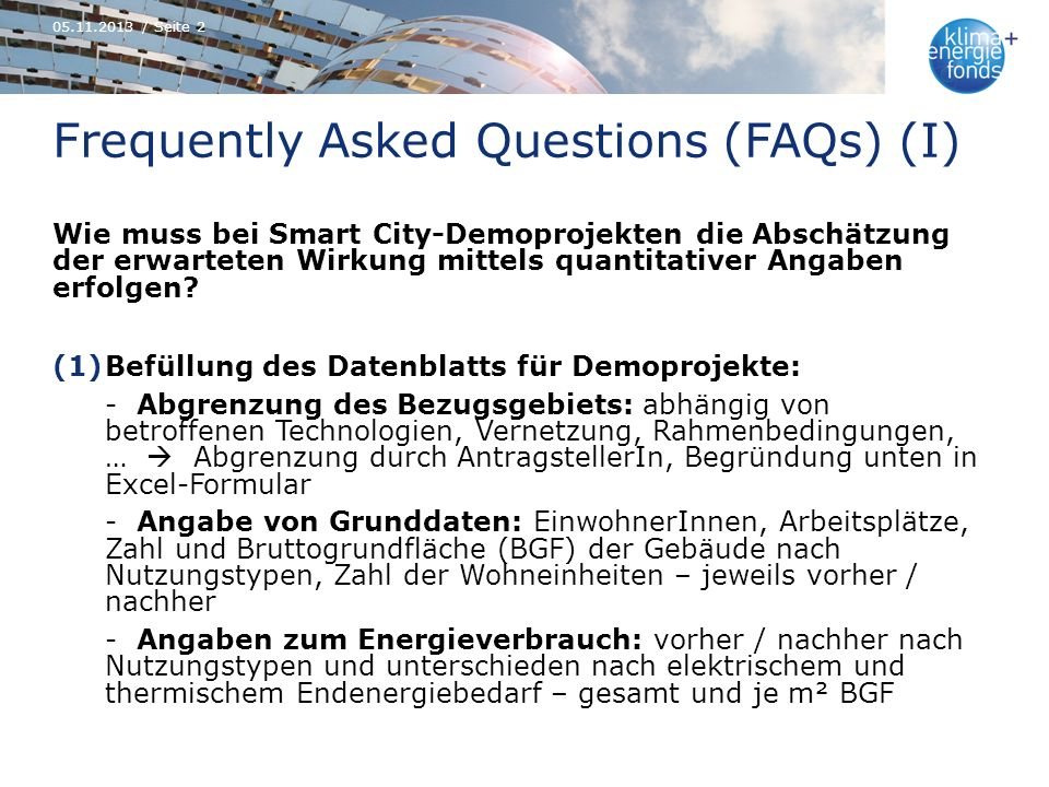 Frequently Asked Questions (FAQs) (I)