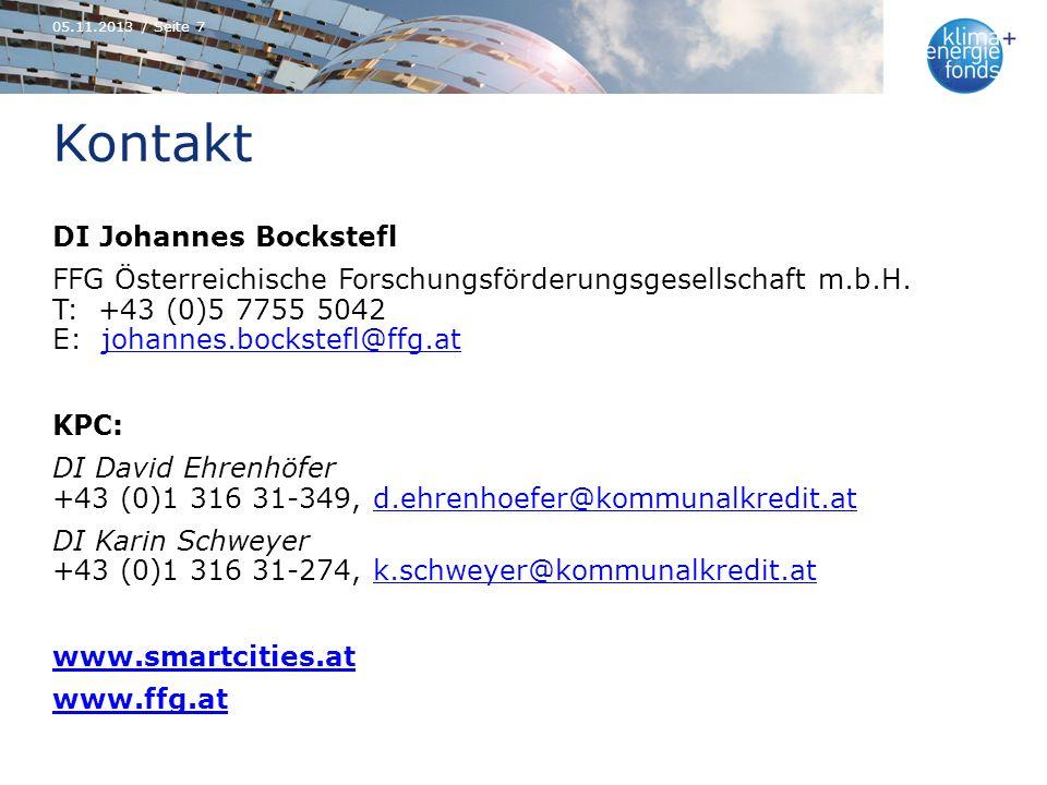 05.11.2013 / Seite 7 Kontakt.