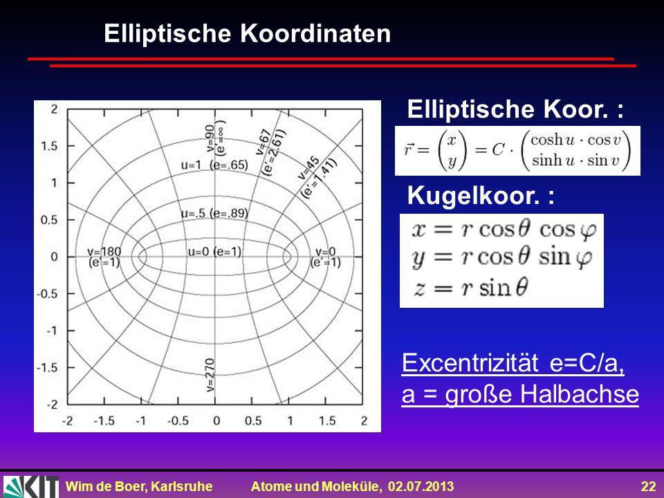 Elliptische Koordinaten