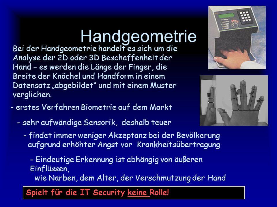 Handgeometrie