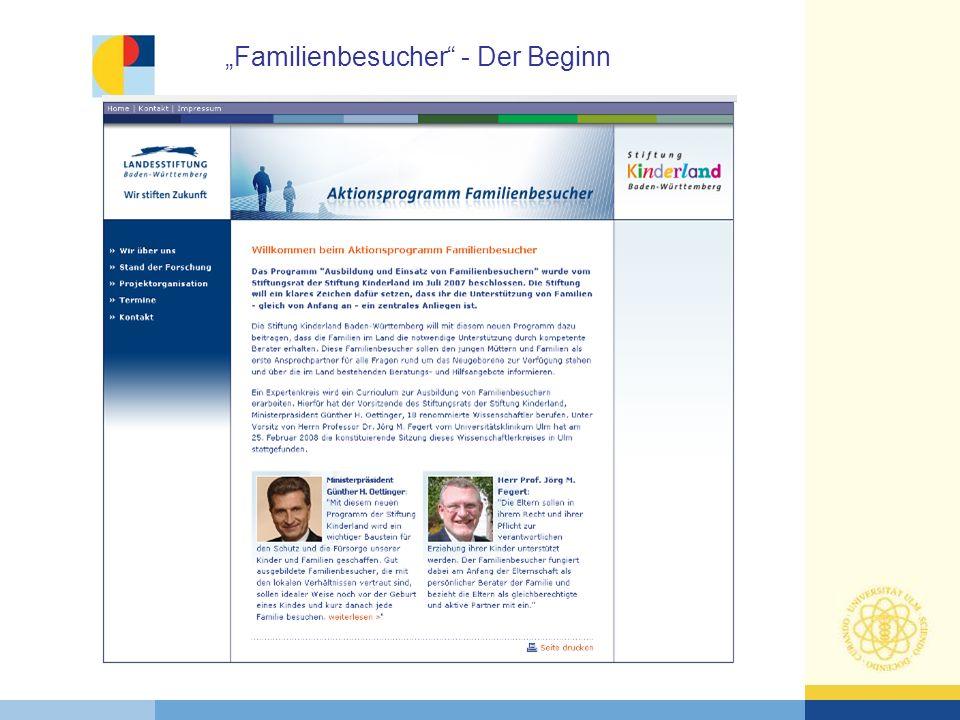 """""""Familienbesucher - Der Beginn"""