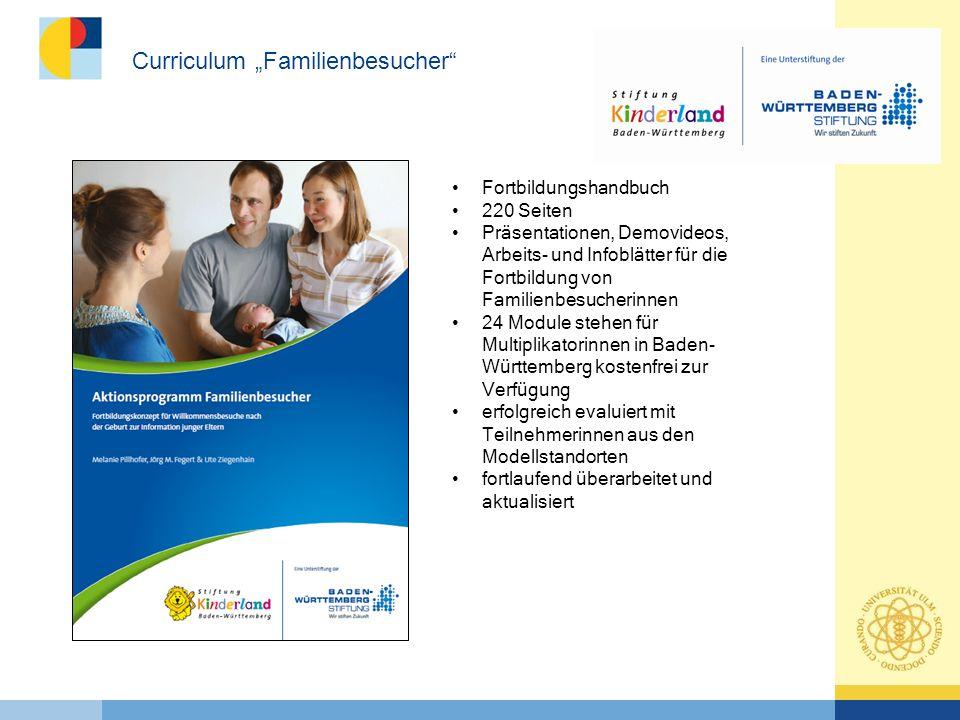 """Curriculum """"Familienbesucher"""