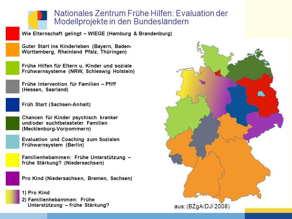 Nationales Zentrum Frühe Hilfen: Evaluation der