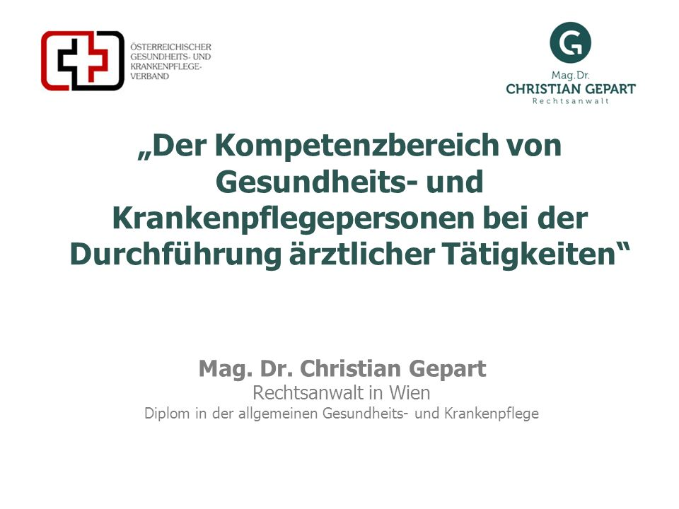 Mag. Dr. Christian Gepart