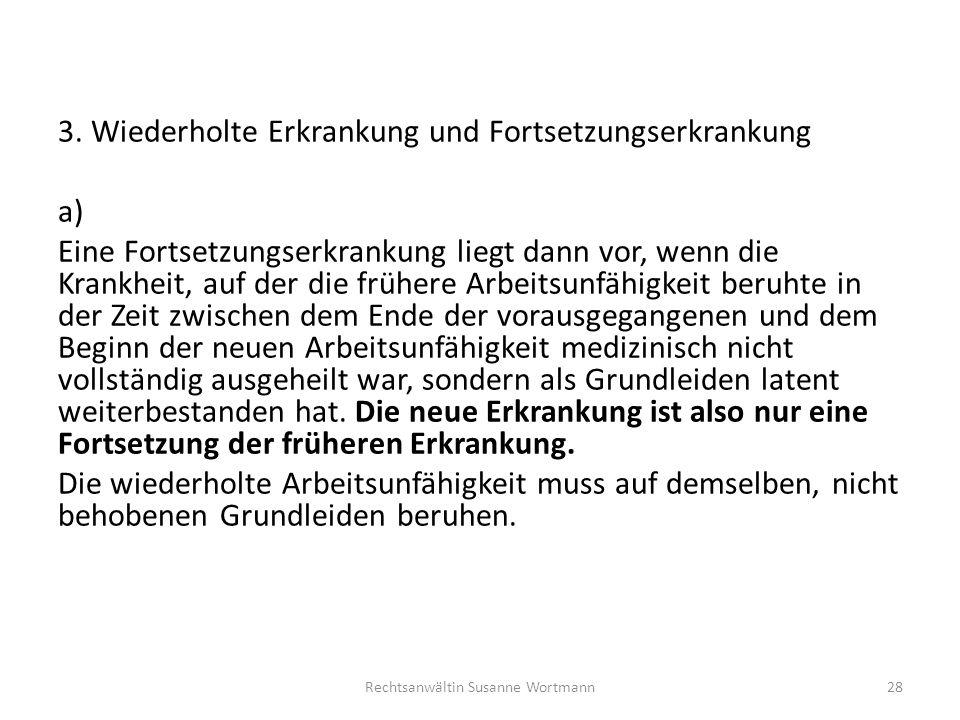 Rechtsanwältin Susanne Wortmann