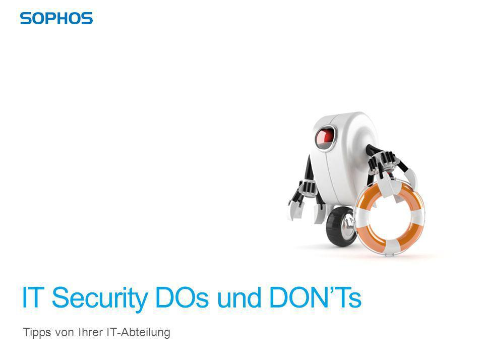 IT Security DOs und DON'Ts