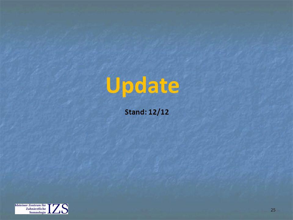 Update Stand: 12/12