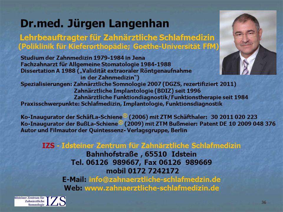 Dr.med. Jürgen Langenhan