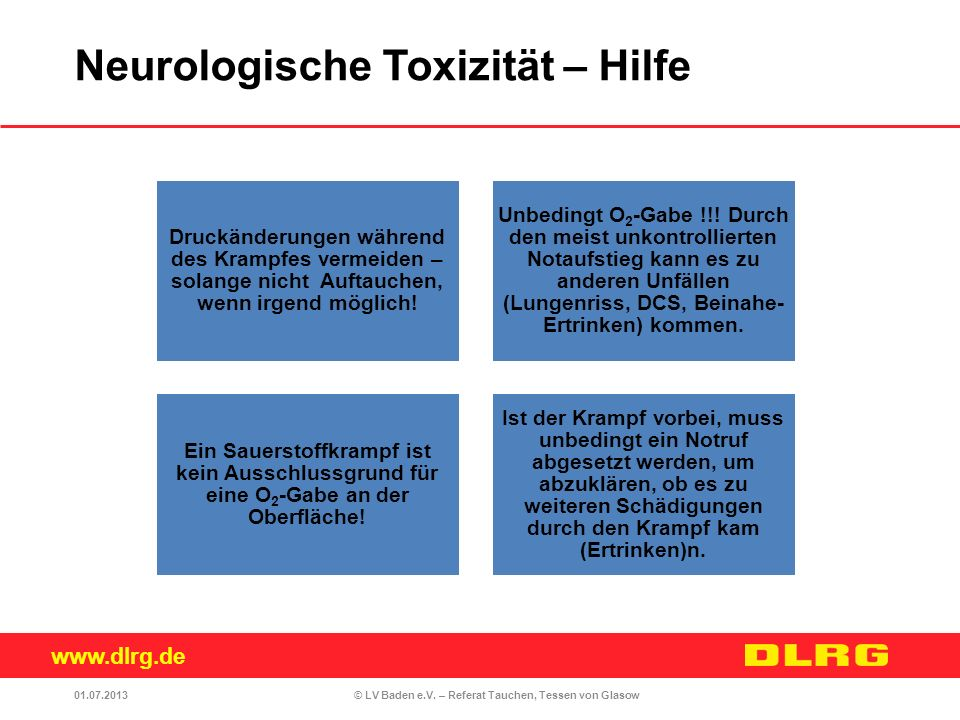 Neurologische Toxizität – Hilfe