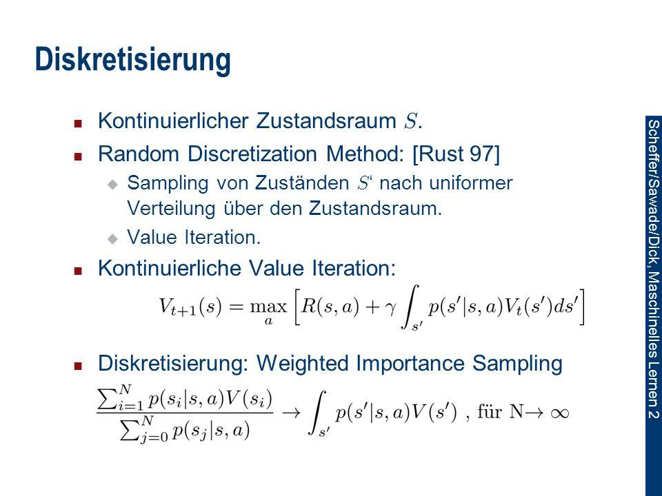 Diskretisierung Kontinuierlicher Zustandsraum S.