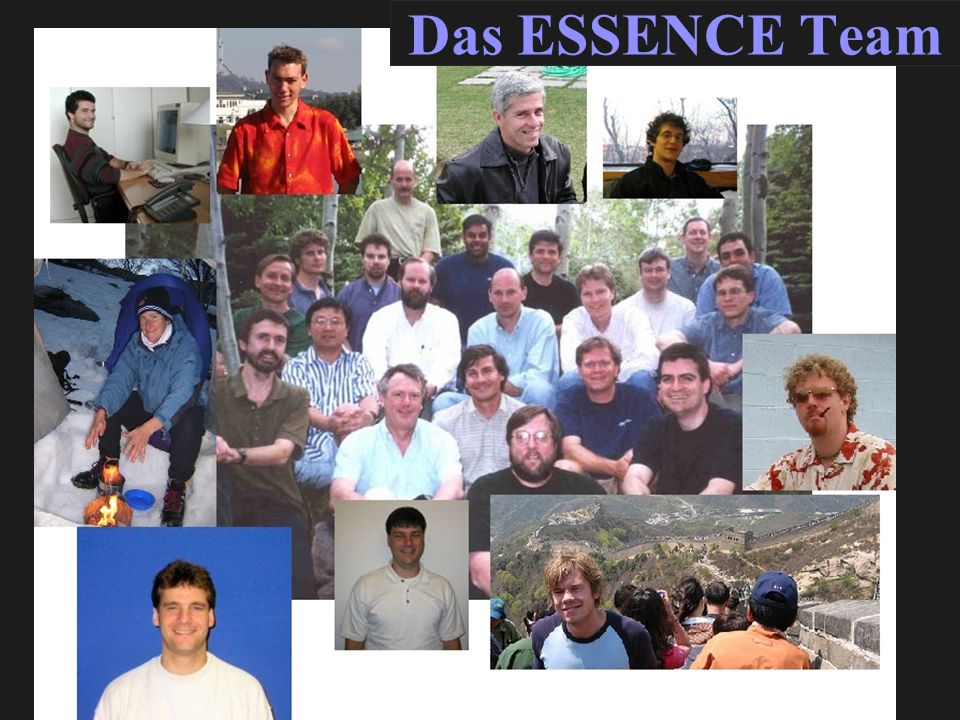 Das ESSENCE Team