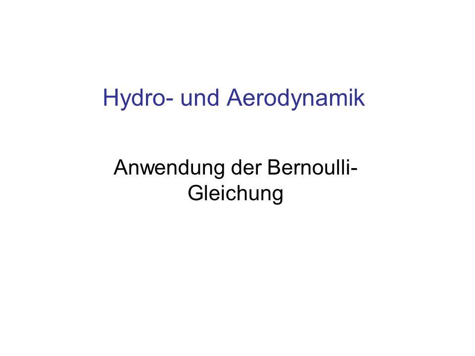 Hydro- und Aerodynamik