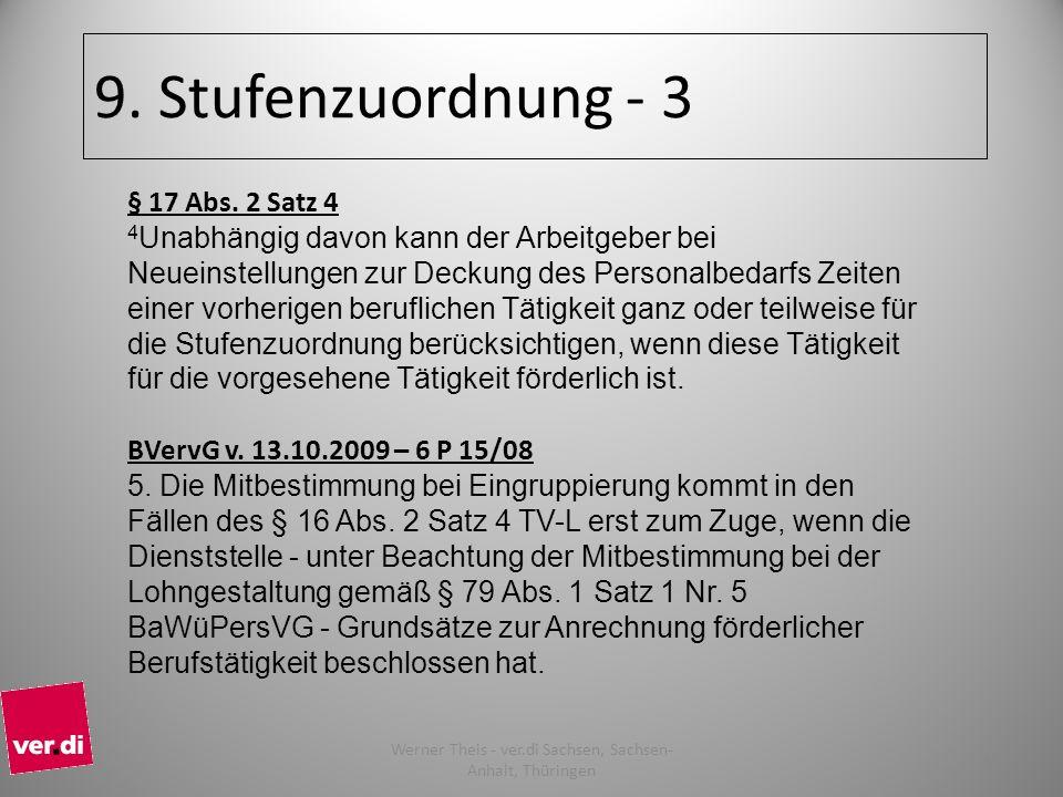 Werner Theis - ver.di Sachsen, Sachsen-Anhalt, Thüringen