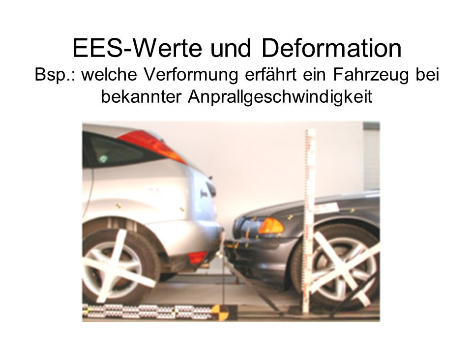 EES-Werte und Deformation Bsp