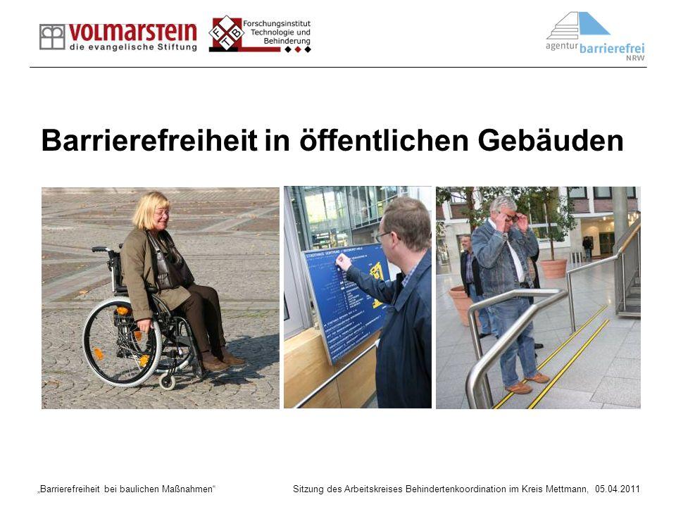 Barrierefreiheit in öffentlichen Gebäuden