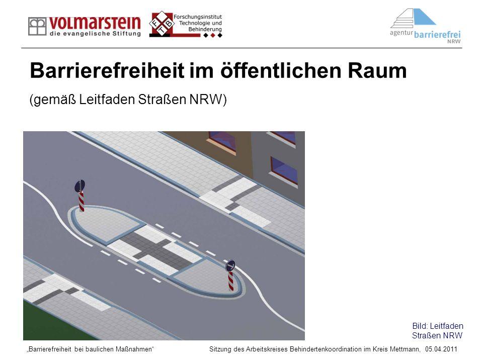 Barrierefreiheit im öffentlichen Raum