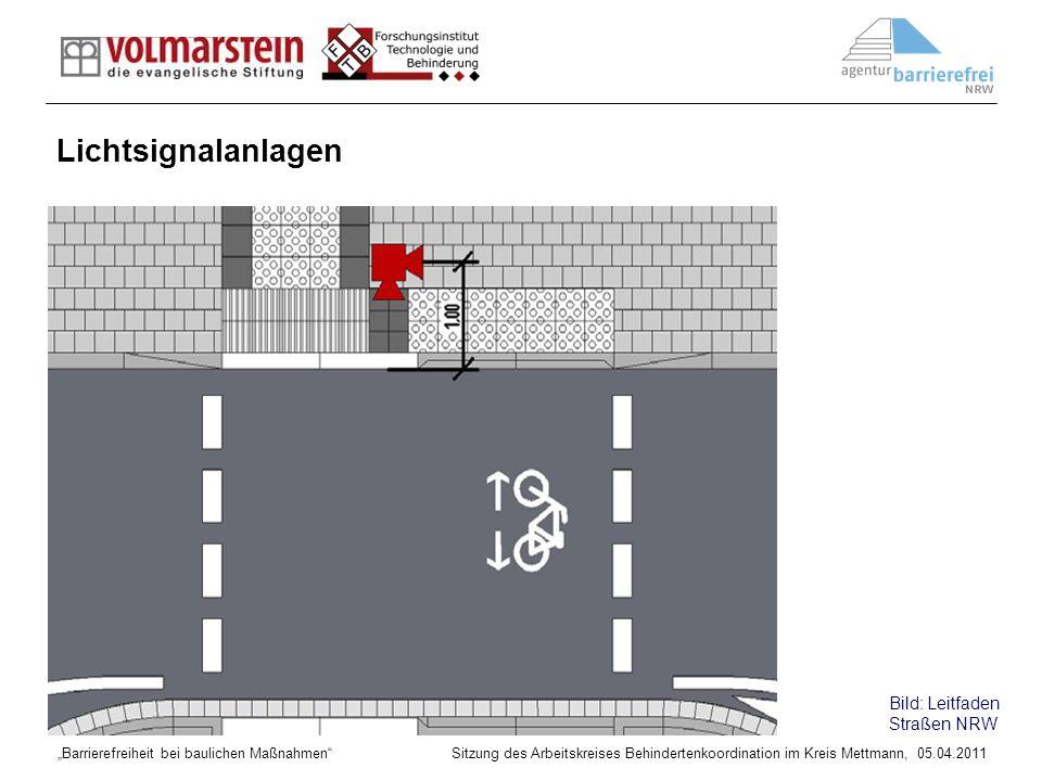 Lichtsignalanlagen Bild: Leitfaden Straßen NRW