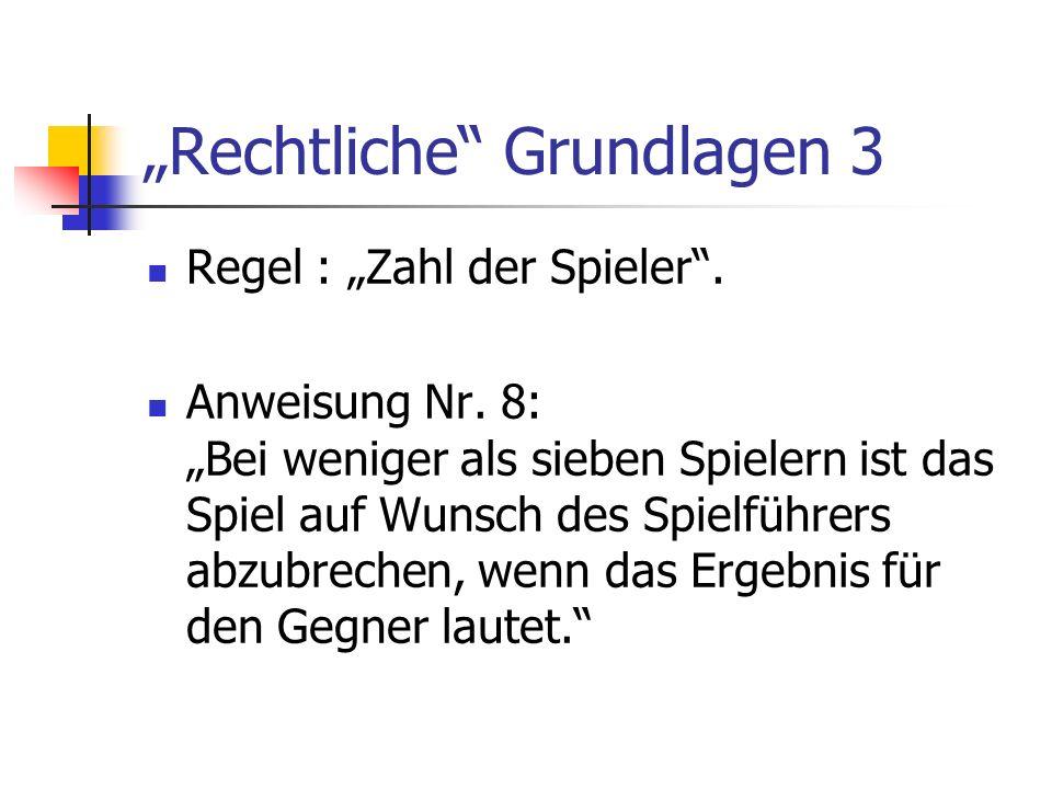 """""""Rechtliche Grundlagen 3"""