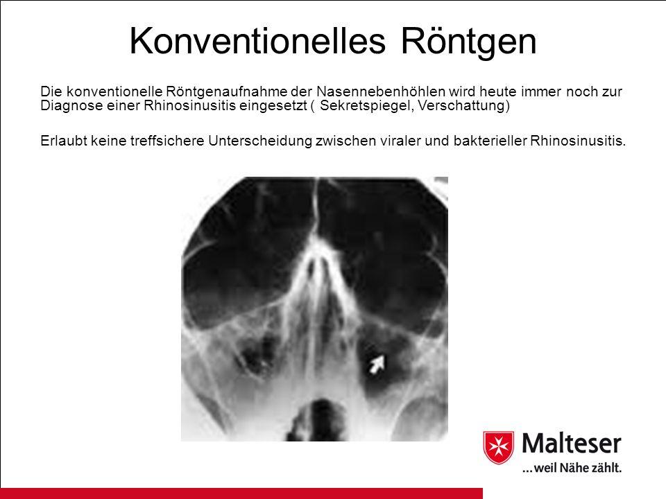 Konventionelles Röntgen