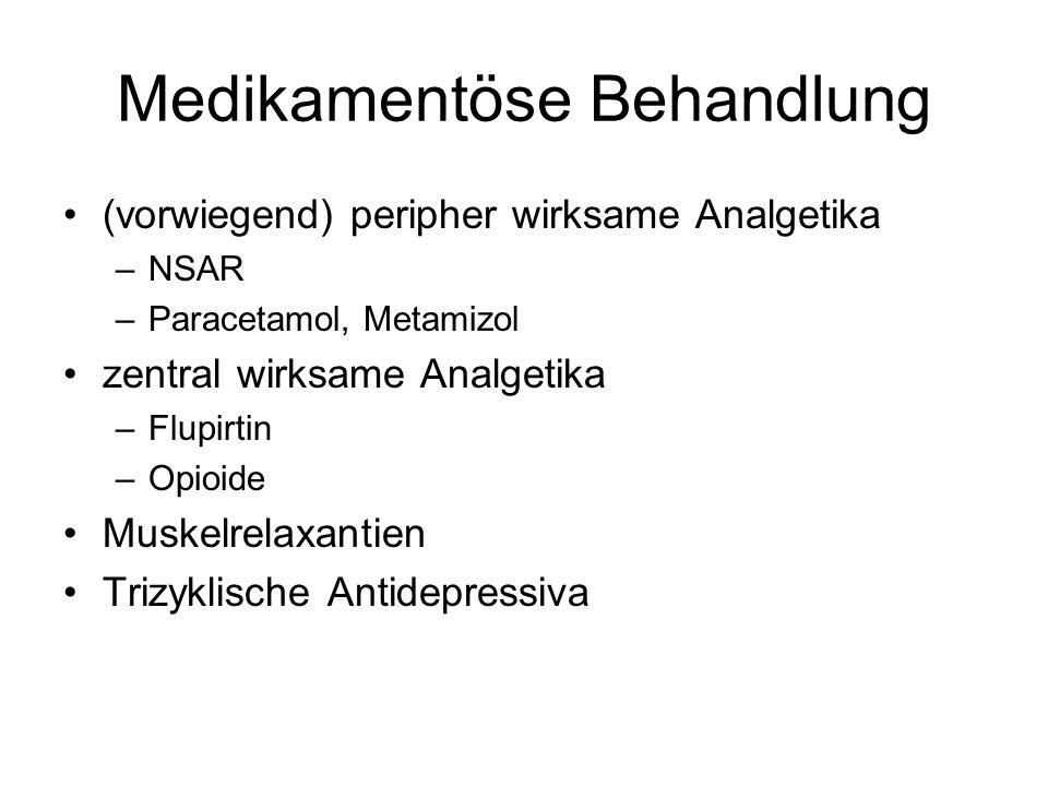 Medikamentöse Behandlung