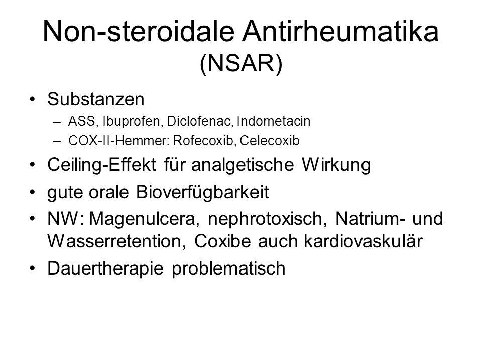 Non-steroidale Antirheumatika (NSAR)